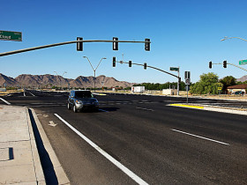 Ellsworth Road Improvements, Hunt Highway to Cloud Rd.