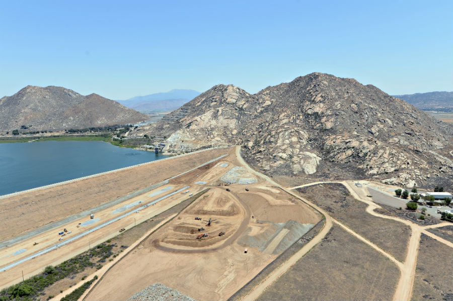 Perris Dam Seismic Remediation Pulice Construction