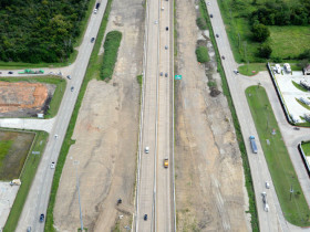 Sam Houston Tollway SE Widening