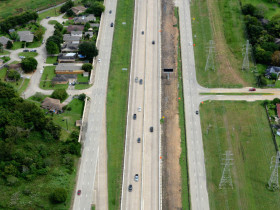 Sam Houston Tollway SE Widening,  West of Wayside Drive to East of Beamer Rd