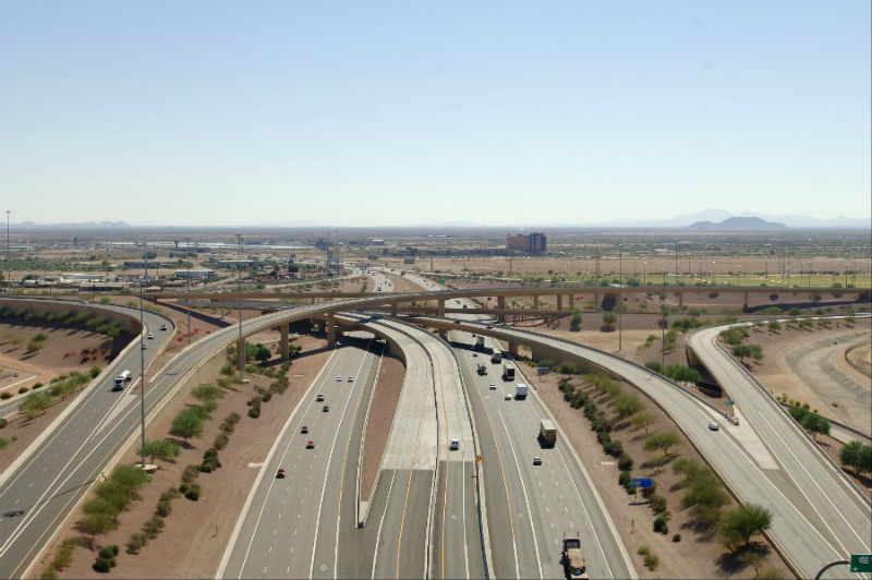 Santan Freeway Sr 202l Hov Lanes I 10 To Gilbert Road