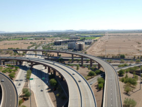 Santan Freeway (SR 202L) HOV Lanes, I-10 to Gilbert Road Design-Build