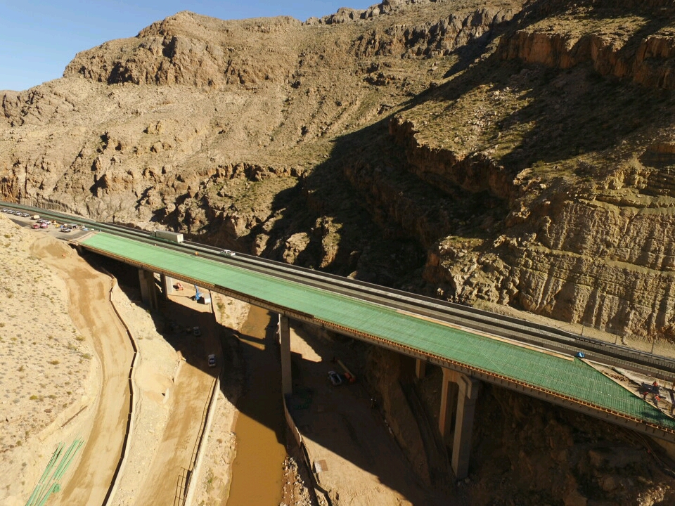 Interstate 15, Virgin River Gorge Bridge #6 Rehabilitation