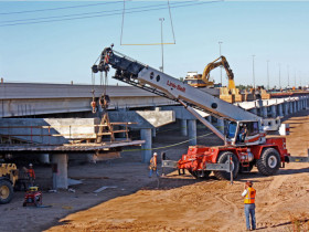 I-10 Median Widening and Reconstruction, Sarival Ave. to SR 101L