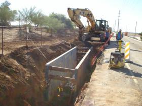 Queen Creek Road Improvements, Price Road to McQueen Road CMAR