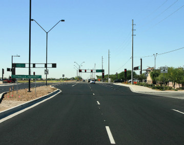 Van Buren Street Improvements, Litchfield Road to Estrella Parkway CMAR